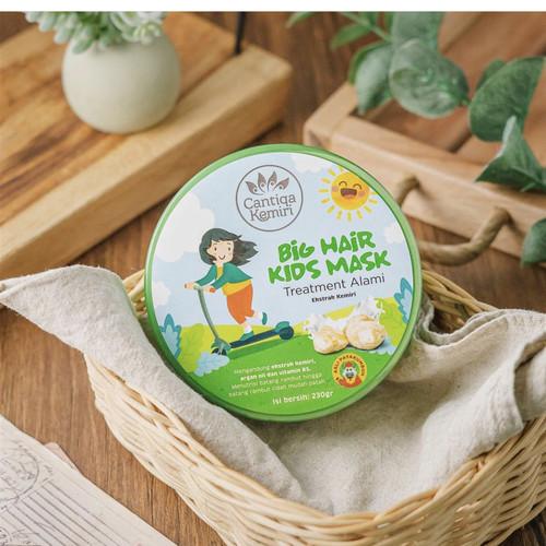 Foto Produk Hair mask Cantiqa kemiri creambath perawatan masker rambut anak dari NadiaCantiqaKemiri