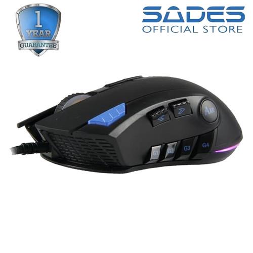 Foto Produk Sades AXE RGB Gaming Mouse dari Sades Official Store