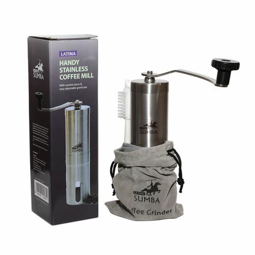 Foto Produk Gilingan kopi manual Latina Sumba handy coffee grinder dari Maharaja Coffee