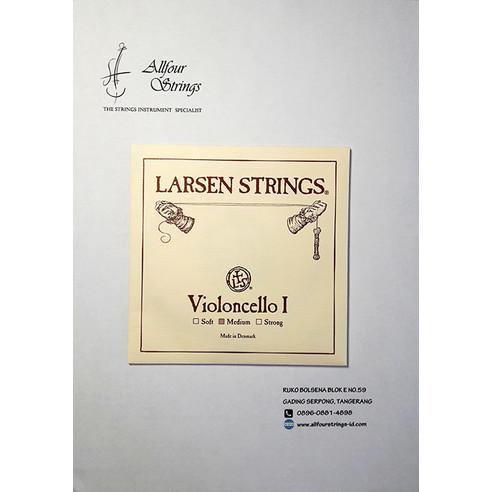 Foto Produk Larsen Cello 4/4 String - senar A satuan dari All 4  Strings