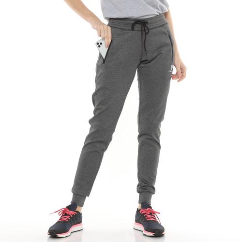 Foto Produk Tiento Celana Jogger Panjang Wanita Long Pants Joger Basic Grey Sporty - M dari TIENTO