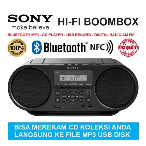 Foto Produk SONY HI-FI BOOMBOX BLUETOOTH MP3 -CD PLAYER- USB RECORD- DIGITAL RADIO dari EtalaseBelanja