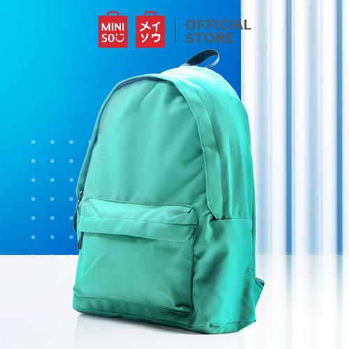 Foto Produk Miniso Official Simple Backpack - Hijau dari Miniso Indonesia