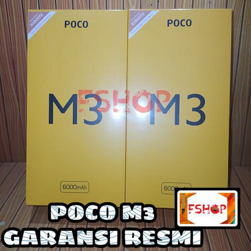 Foto Produk POCO M3 Garansi Resmi - 4 64WarnaRandom dari FarhanShop_