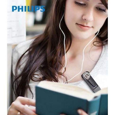 Foto Produk PHILIPS SA1208 Bluetooth MP3 Player 8 GB - FM Digital - Clip On Clip dari EtalaseBelanja