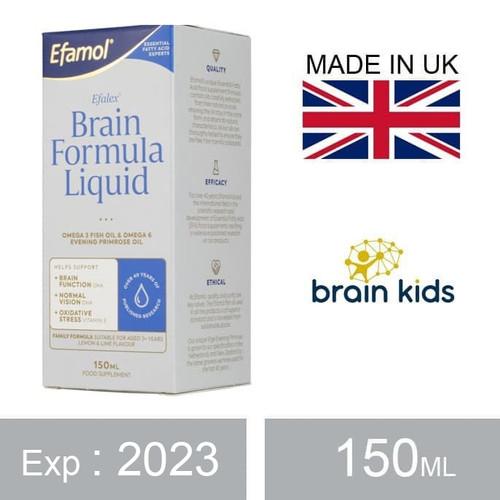 Foto Produk Efamol Efalex Brain Formula Liquid (150ml) dari VITAMIN EXECUTIVE