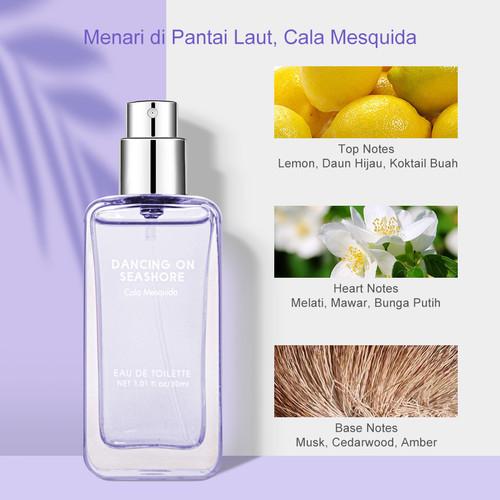 Foto Produk MINISO Parfum Wanita Pria Perfume Dancing Seashore EDT Papagayo Beach - Cala Mesquida dari Miniso Indonesia