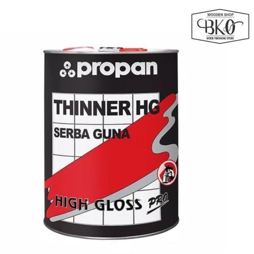 Foto Produk Thinner PROPAN HG High Gloss Serbaguna galon 3.80lt dari BKO Wooden shop