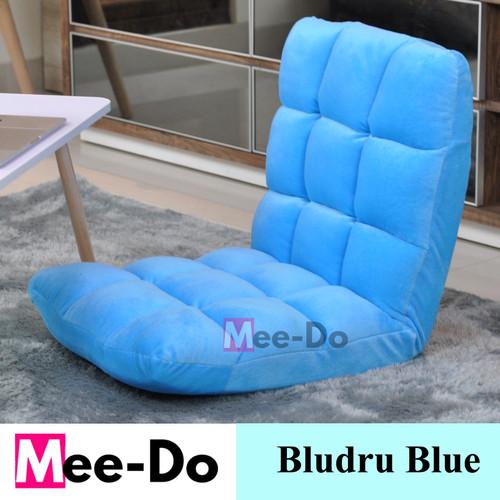 Foto Produk Mee-do SOFA BED / SOFA / KURSI LANTAI /LIPAT / LESEHAN / MALAS - Biru Muda dari Expert mattress