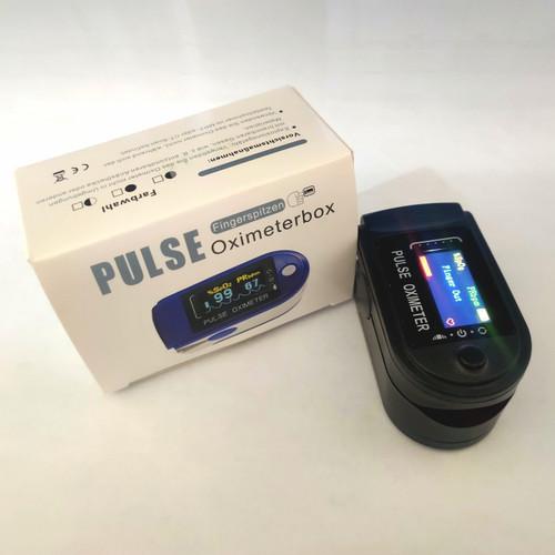 Foto Produk Pulse oximeter /oxymeter SPO2 Saturation Alat Ukur oksigen dalam darah dari AikoKu