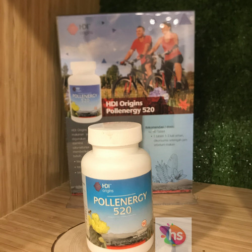 Foto Produk Pollenergy 520 HDI 90 Tablet dari Hanna Surabaya
