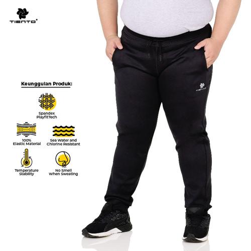 Foto Produk Tiento Celana Jogger Panjang Pria Long Pants Jogger Sporty Jumbo - 4XL dari TIENTO