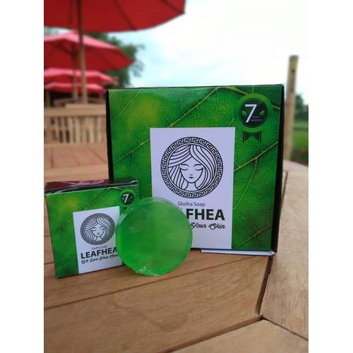 Foto Produk LEAFHEA GLUTA SOAP | SABUN COLLAGEN LEAFHEA | SABUN WAJAH dari zailmun -shop