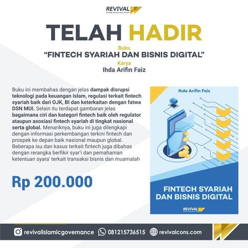 Foto Produk Book Fintech Syariah dan Bisnis Digital dari Revival Official