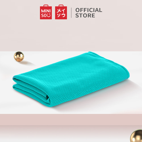 Foto Produk MINISO MINI Sport- Handuk Pendingin Untuk Olahraga Latihan Yoga Gym - Mint Green dari Miniso Indonesia