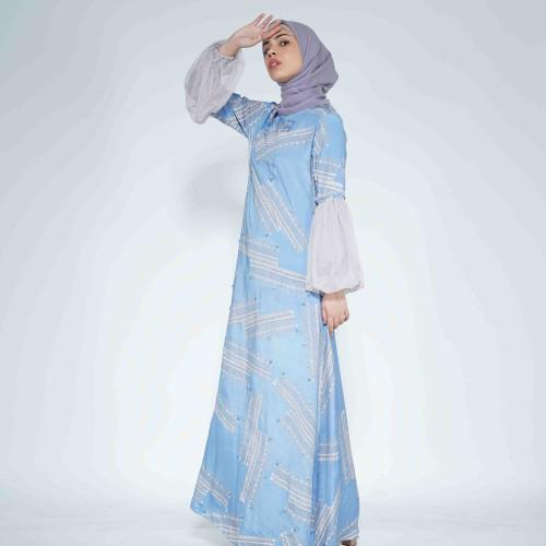Foto Produk Gaun Belvia dari Qonita Batik Official