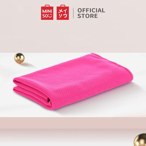 Foto Produk MINISO MINI Sport- Handuk Pendingin Untuk Olahraga Latihan Yoga Gym - Rose Red dari Miniso Indonesia