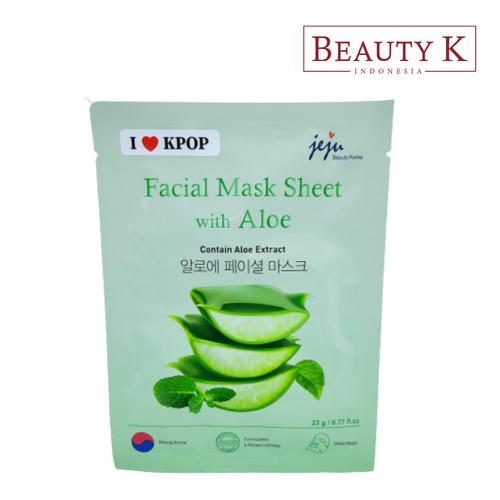Foto Produk BeautyK Facial Mask Sheet with Aloe dari BeautyK Indonesia