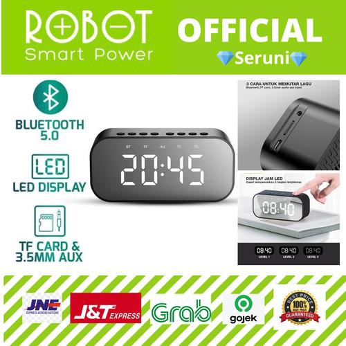 Foto Produk Speaker Bluetooth Robot RB550 5.0 with LED Display & Alarm Clock dari serunicomp