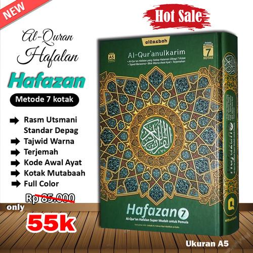 Foto Produk Al-Quran Hafalan Hafazan A5 - Hijau dari Grosir Produk Muslim