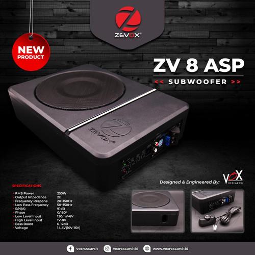 Foto Produk Subwoofer Underseat VOX ZV 8 ASP by Cartens-Store.com dari Cartens Store