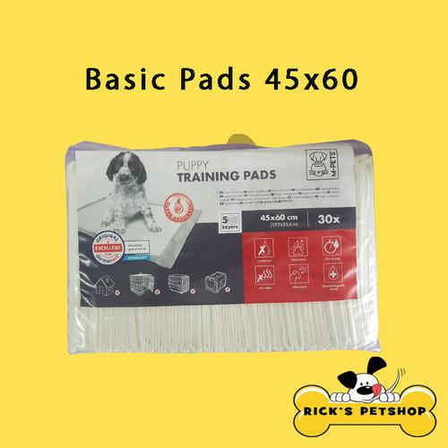 Foto Produk M-Pets Basic Puppy Training Pads/ Underpad/ Toilet Pad/ Pee Pad 45x60 dari Rick's Petshop