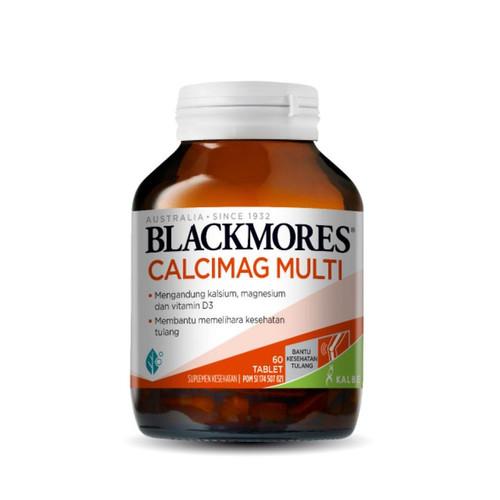 Foto Produk BLACKMORES CALCIMAG MULTI 60 TABLET BPOM KALBE dari Mitrasana