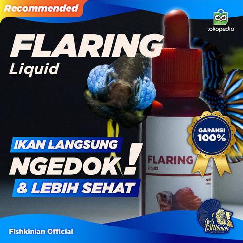 Foto Produk FLARING LIQUID - OBAT NGEDOK IKAN CUPANG dari Fishkinian Official