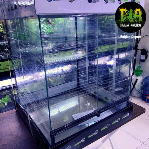 Foto Produk Reptizoo Terrarium 45x45x60cm - Kandang Amfibi dari Dunia Anura