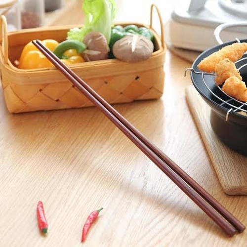 Foto Produk Sumpit Kayu Lancip Jumbo / Sumpit Panjang Hot Pot / Sumpit Shabu Shabu dari fusion21