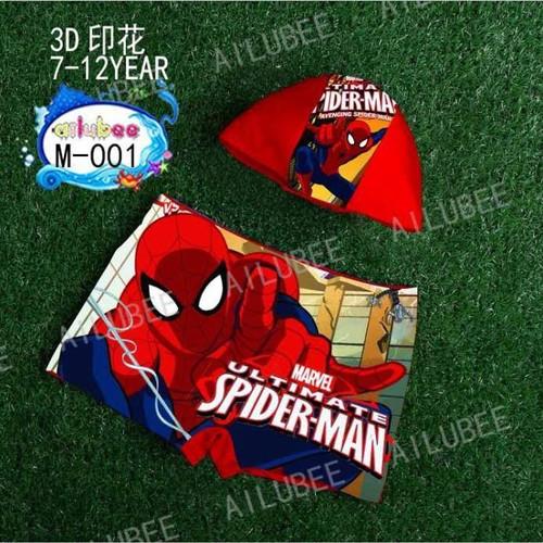 Foto Produk Celana Renang Anak Laki-Laki Spiderman Import SW179 - 7thn dari PEARL KIDS HOUSE II