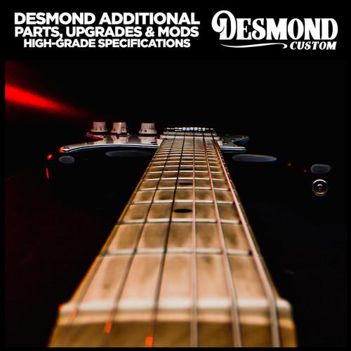 Foto Produk Desmond Additional Parts, Upgrades and Modification - High Grade Specs - + Bone Nut dari Desmond Music