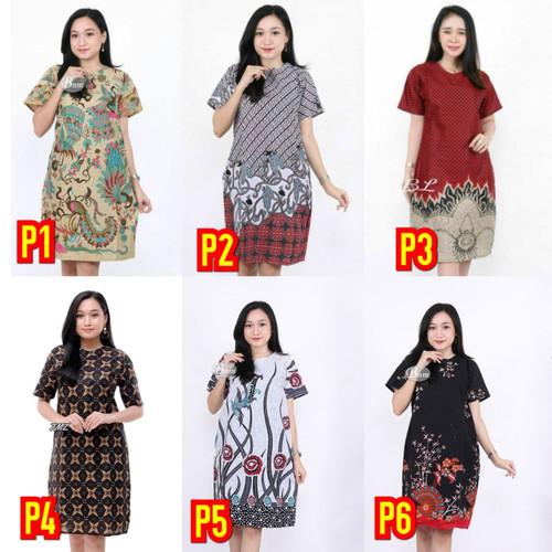 Foto Produk Dress Batik Wanita (M, L, XL) dari Batik Rifqi
