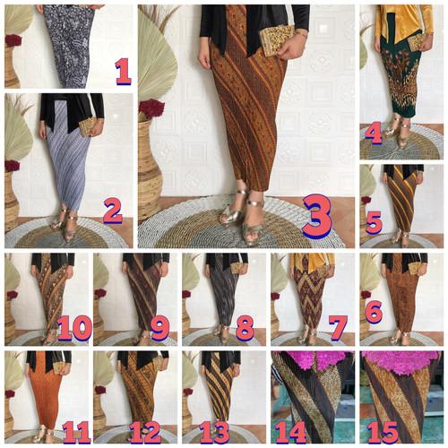 Foto Produk rok batik plisket motif dari beetoserba