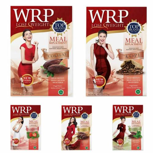 Foto Produk wrp replacement meal lose weight isi 6 sachet - Cokelat sereal dari Jastrip_online