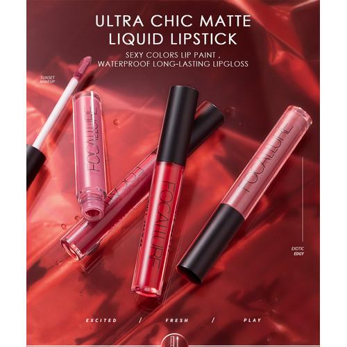 Foto Produk Focallure Long Lasting Matte Lips Color FA24 - FA24-19 dari beauty entity
