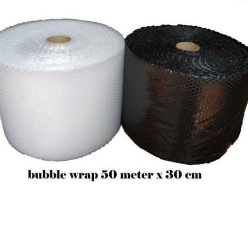 Foto Produk Bubble Wrap Potongan Uk 30cm X 50m - putih polos dari GSM Ting