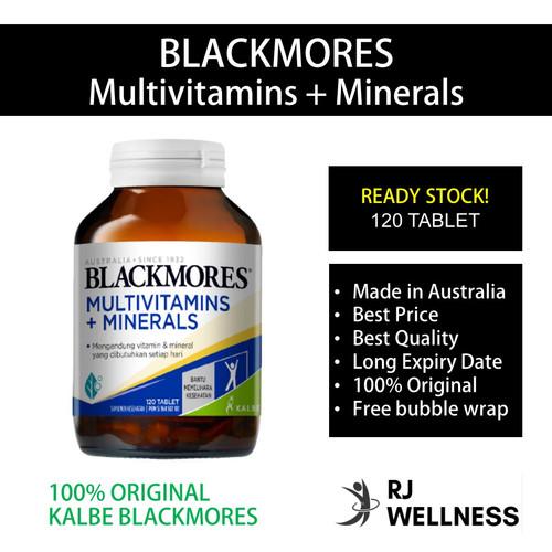Foto Produk BLACKMORES - Multivitamins + Minerals (120 Tablet) dari RJ Wellness