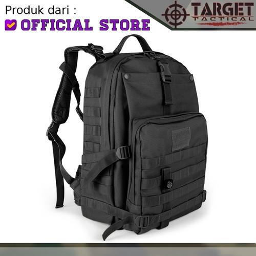 Foto Produk Tas Ransel Army Target Molle Compass Gunung Hiking Import Original - Hitam dari Tactical Indonesia