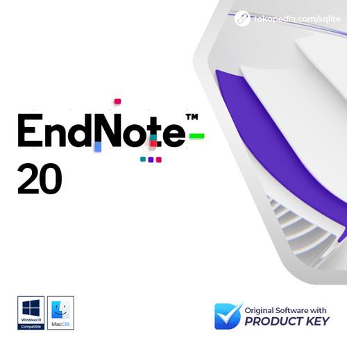 Foto Produk EndNote 20 Original with Product Key (Windows/MacOS) dari SQLite