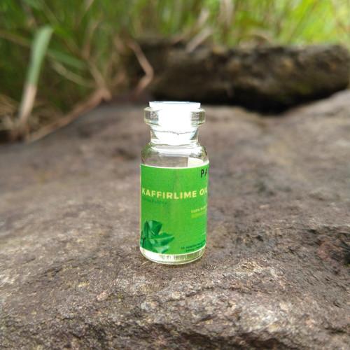 Foto Produk sampel 2 ml - minyak daun jeruk purut / kaffir lime oil dari pavettia essential oil