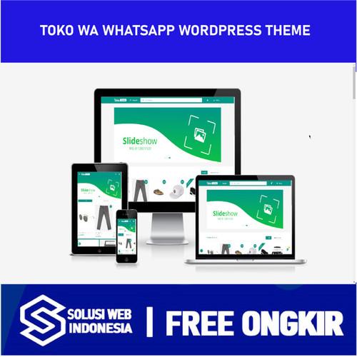 Foto Produk TOKO WA Whatsapp WordPress Theme Toko Online Whatsapp dari Solusi Website Indonesia