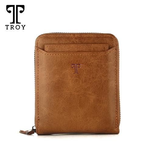 Foto Produk Troy Classic Horo - Coklat | Dompet Pria Kulit Model Tidur Original - Horo - Coklat dari IMPORT SPECIALIST