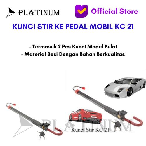 Foto Produk KUNCI KC 21 KUNCI STIR SETIR KE PEDAL GAS MOBIL UNIVERSAL KC21 dari PLATINUM CAR PARTS