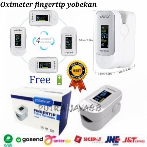 Foto Produk Oximeter fingertip oksigen Pulse jari deteksi detak jantung dari Putra Jaya88