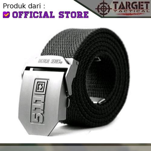 Foto Produk Gesper Tactical 5.11 Besi Ikat Pinggang Tactical Nylon Import Terbaik - Hitam dari Tactical Indonesia