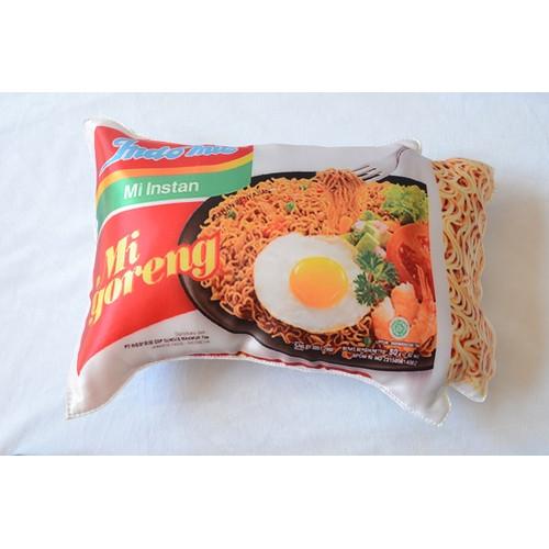 Foto Produk Bantal Mie Indomie - bantal murah empuk dan sangat nyaman Super Unik - mie goreng dari Trend Flower