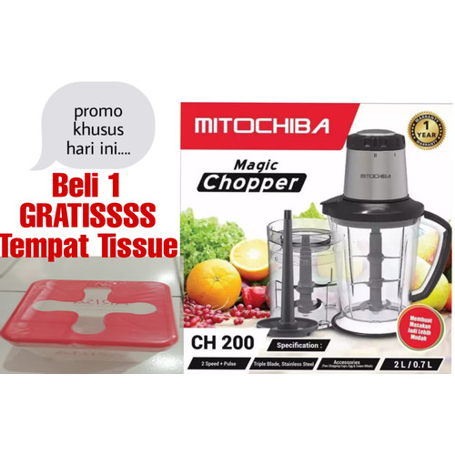 Foto Produk Mitochiba Food Chopper CH-200 dari Happy Niaga