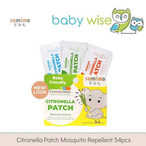 Foto Produk Sumimo Citronella Patch Mosquito Repellent 54pcs dari Baby Wise