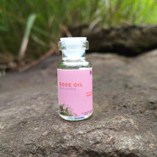 Foto Produk sampel 2 ml - minyak mawar / rose oil dari pavettia essential oil
